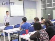 Lớp thạc sĩ Kế toán trường Đại học Công nghệ Đông Á đến với Lý thuyết kiểm toán nâng cao