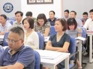 Lớp Thạc sĩ MBA đến với môn học Quản trị sản xuất và tác nghiệp