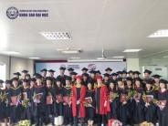 Lễ tốt nghiệp và trao bằng cho các Tân thạc sĩ Quản trị kinh doanh MBA K1