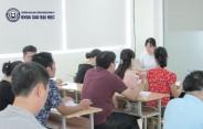 Quản trị kinh doanh K2B tại EAUT học gì cuối tuần qua?