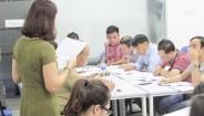 Lớp Thạc sĩ MBA kết thúc học phần: Quản trị sản xuất và tác nghiệp